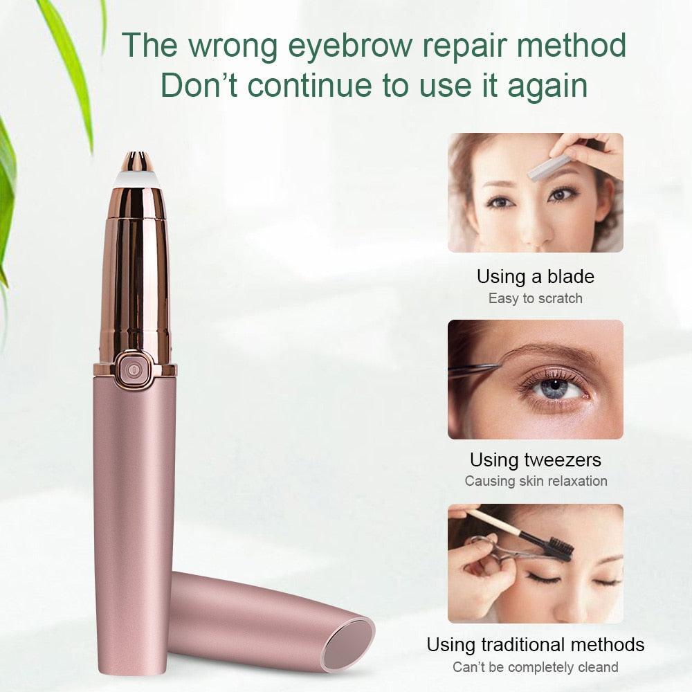Electric Pen Eyebrow Trimmer