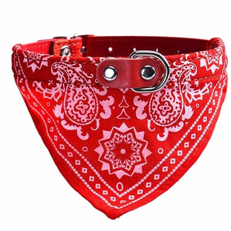 Adjustable Dog Collar Bandana