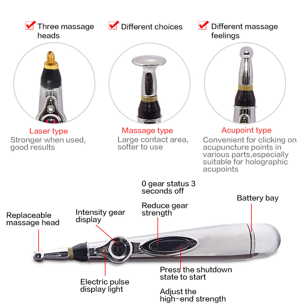 Electric Acupuncture Pen Massager