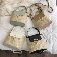 Straw Summer Travel Bags