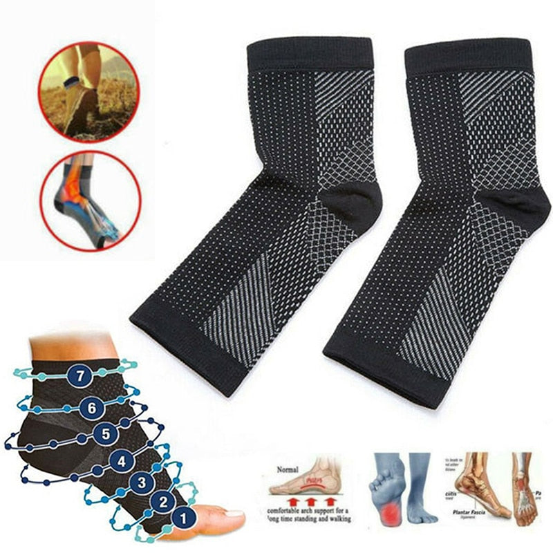 Pain relief foot compression socks