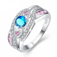 Women Oval Heart Ring