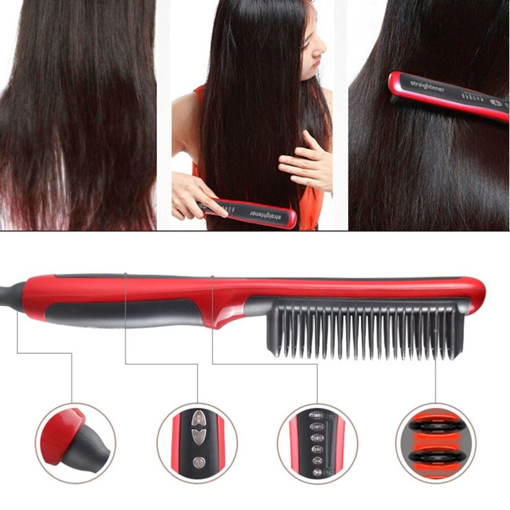 Electric Straight Hair Comb