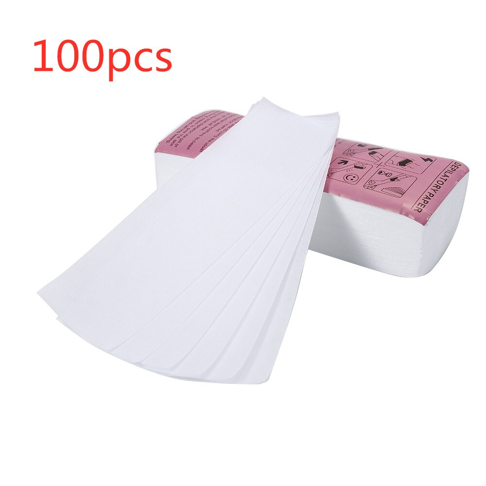 100 Pcs Was Strip Papers