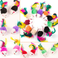 10 Pcs Cat Toys Fake Mouse Pet