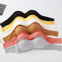 Seamless Tube Underwear Removable Pads for Women
