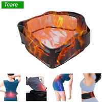 Self-heating Magnetic Back Support