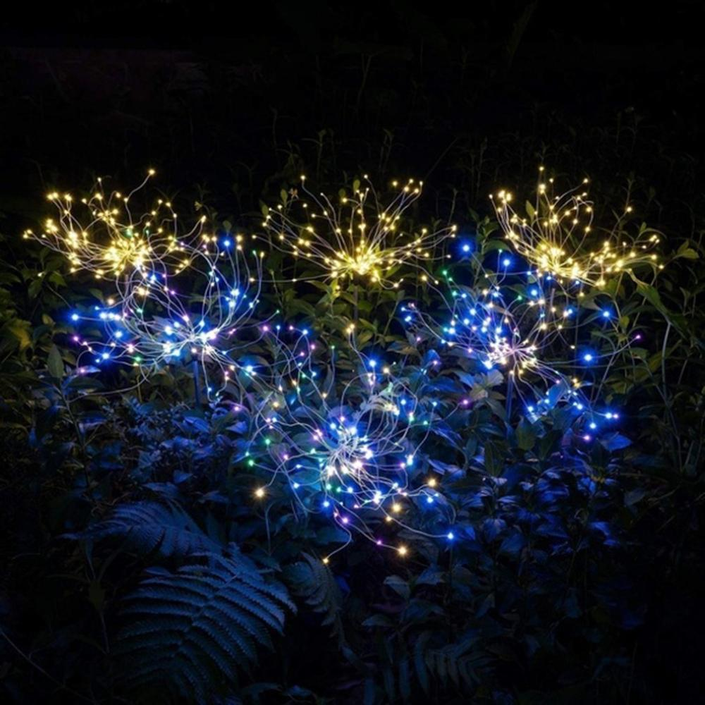 LED Solar Firework Lights