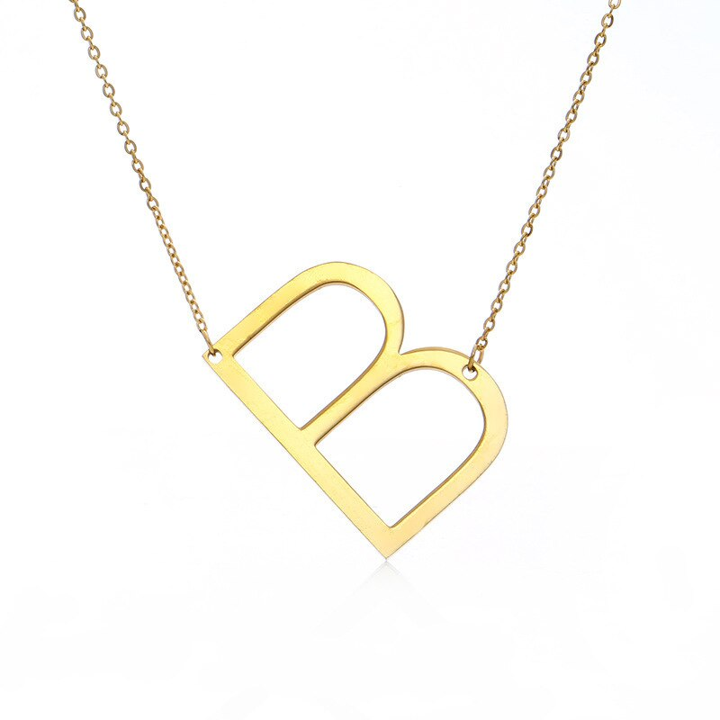 Elegant 26 Letter Necklace