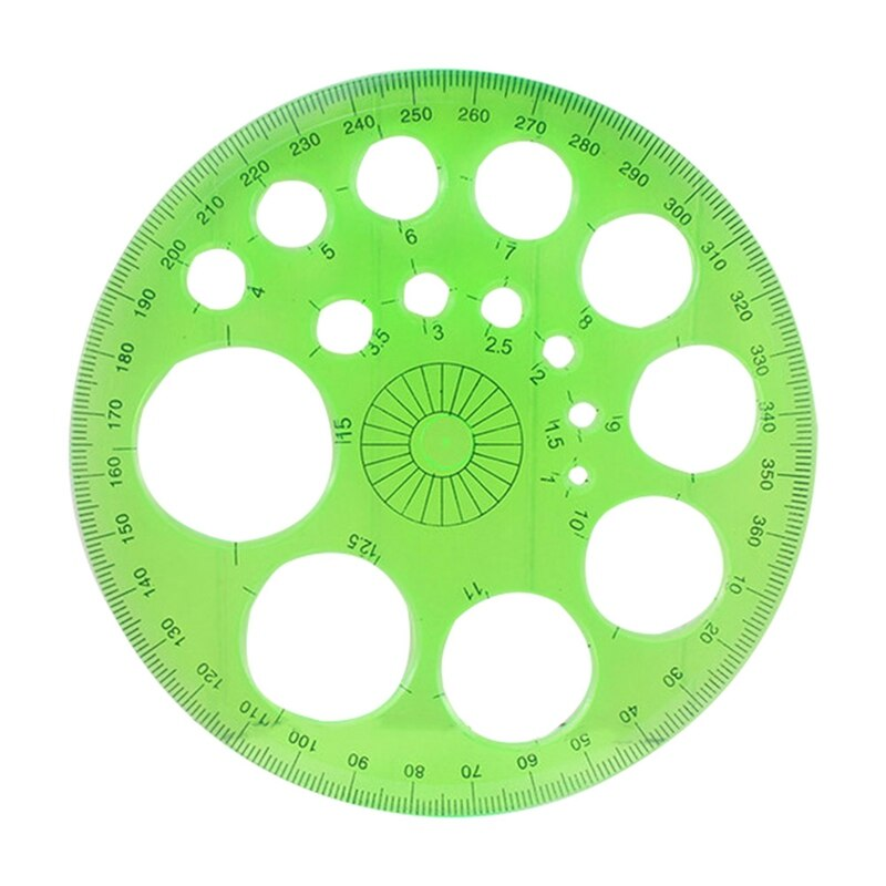 360 Degree Round Ruler