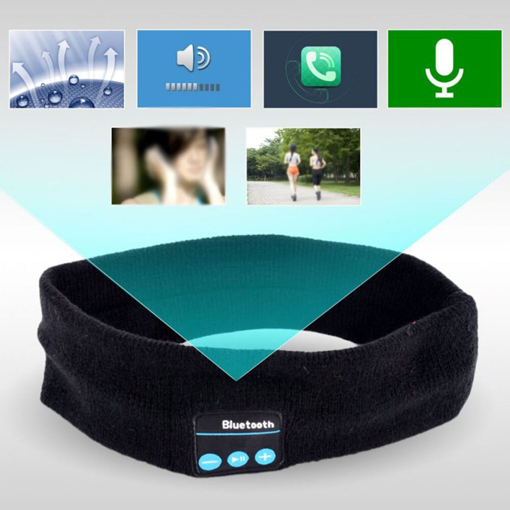 The Bluetooth music headband