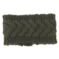 Knitted Ear Warmer Headwrap