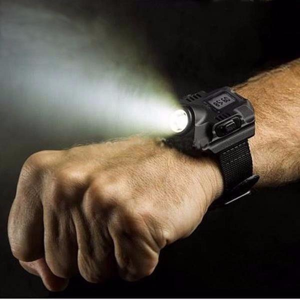 Flashlight Watch