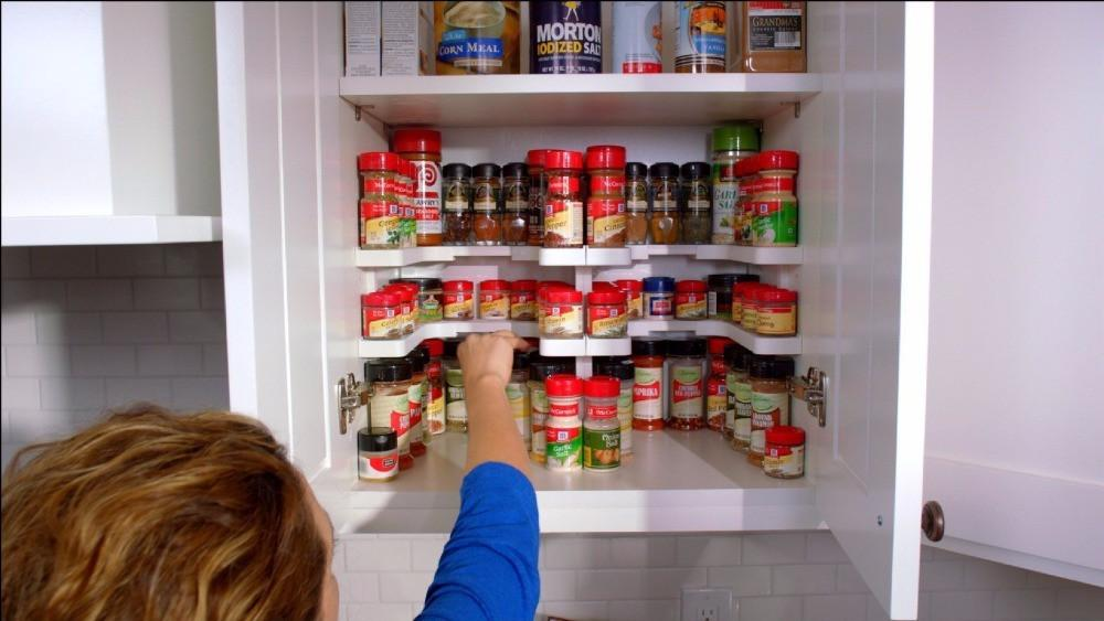 Spice Rack and Stackable Organizer
