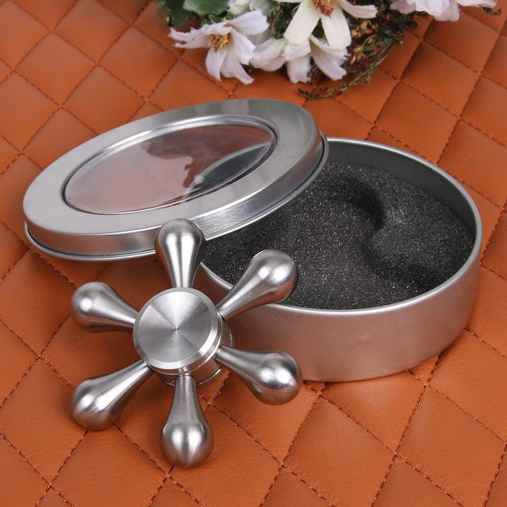 Silver Sleek Spinner
