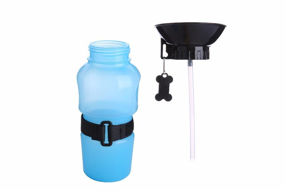 Dog Travel Water Squeeze Bottle