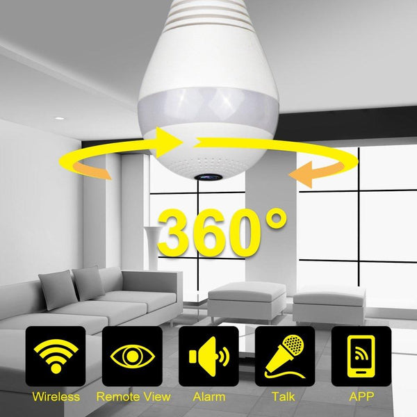 360° Light Bulb Cameraa