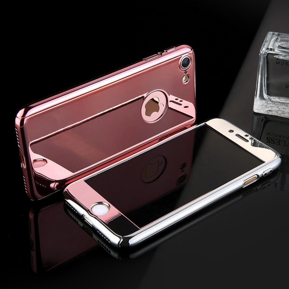 Mirror Plated iPhone 360 Case