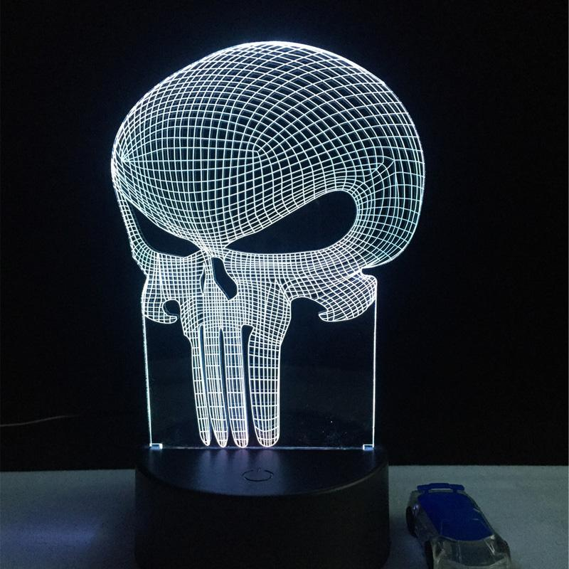 Punisher LED Lamp