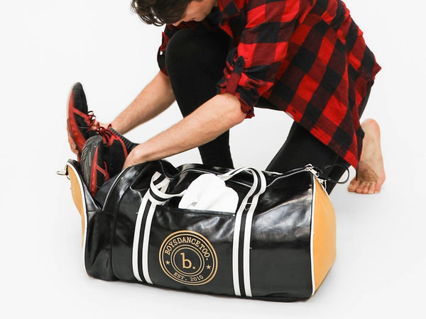 Est. 2010 Faux Leather Duffle