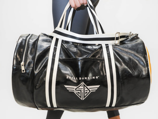 Still Dancing Faux Leather Duffle