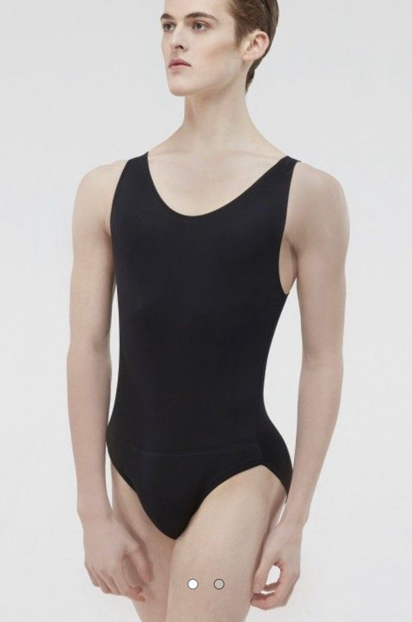 Microfibre Tank Leotard with built in dance belt - Boys