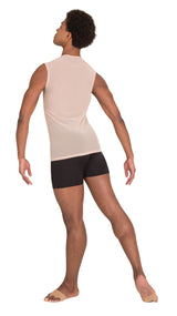 Pullover Tank with Power Mesh Back - MENS