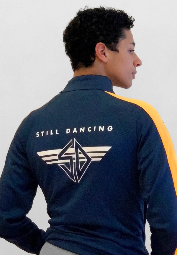 STILL DANCING SIDE STRIPE TRACK JACKET