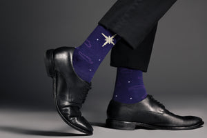 Men's Christian Sock - The Starry Night