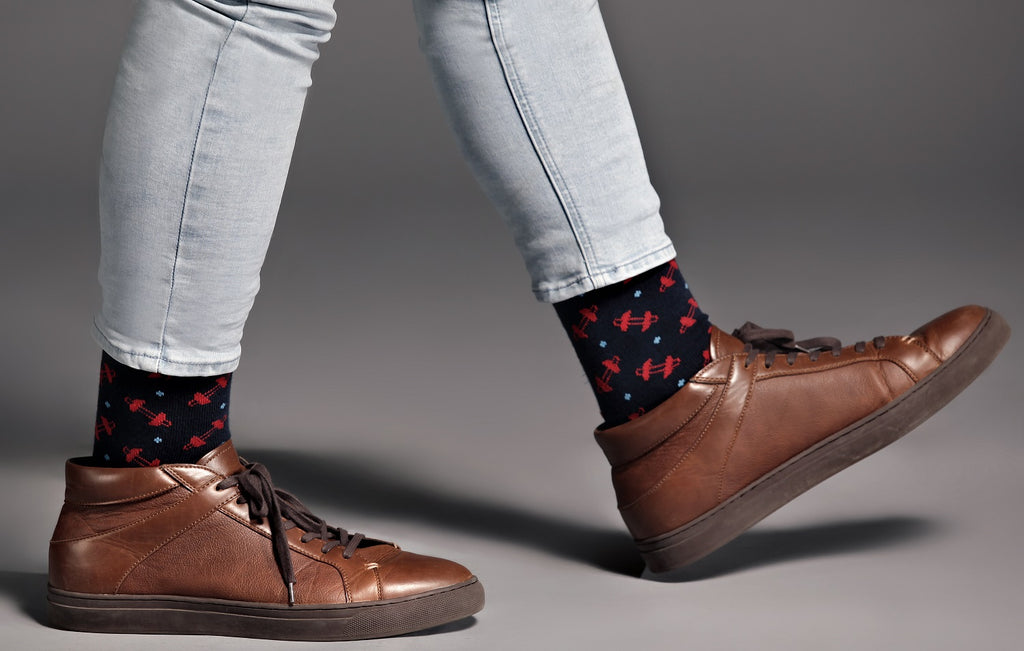 Christian Men's Dress Socks - Fearless Faith