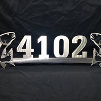 Dueling Redfish Address Sign