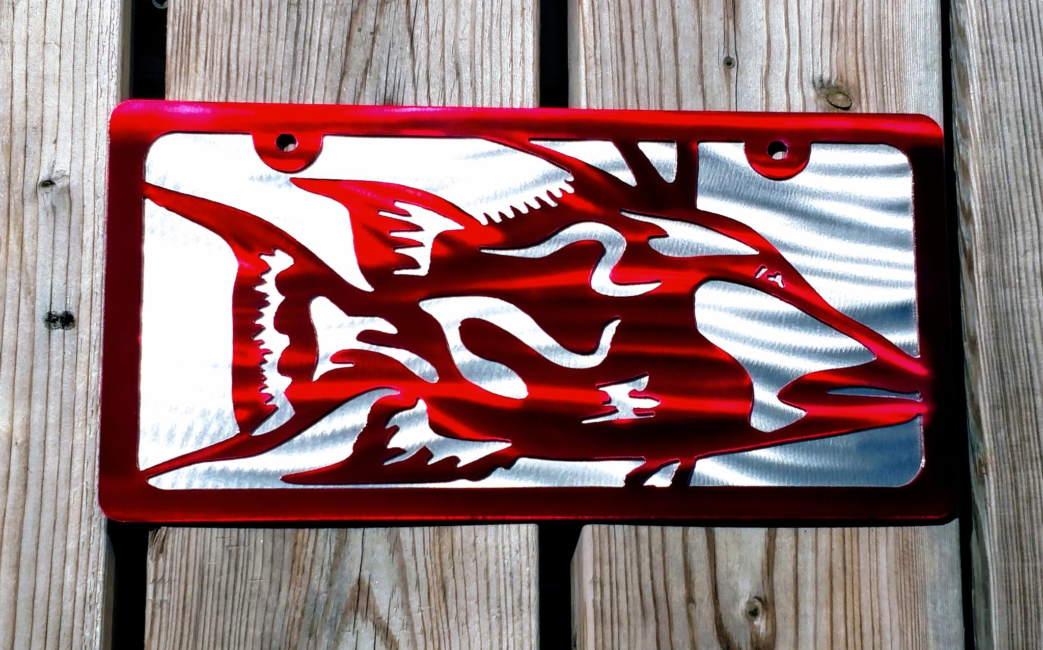 Hog Fish Vanity License Plate