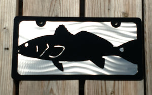 Redfish Vanity License Plate
