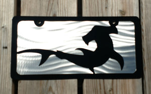 Hammerhead Shark Vanity License Plate