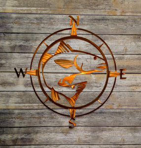 Redfish Compass Rose