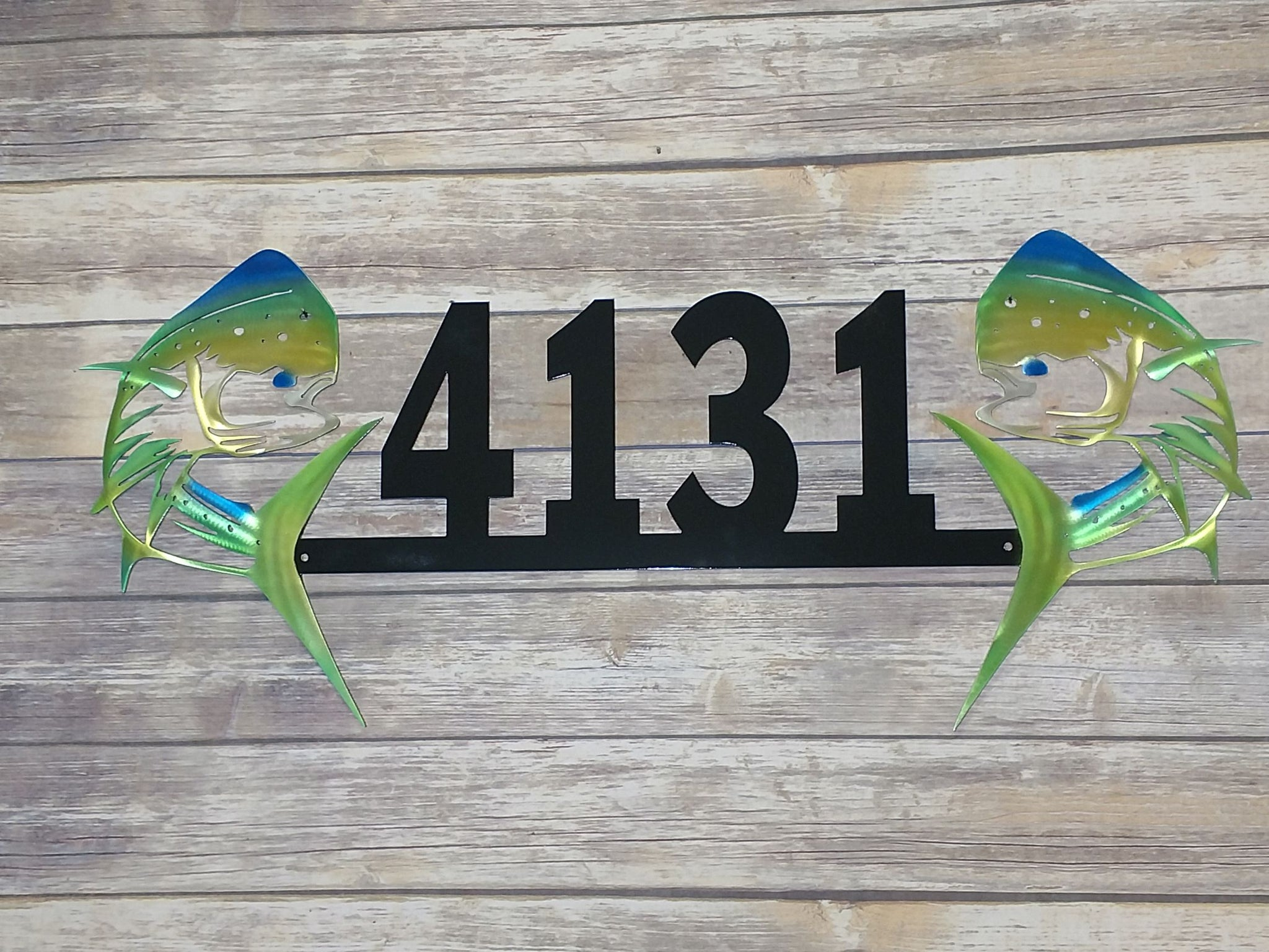 Dueling Mahi Address Airbrushed