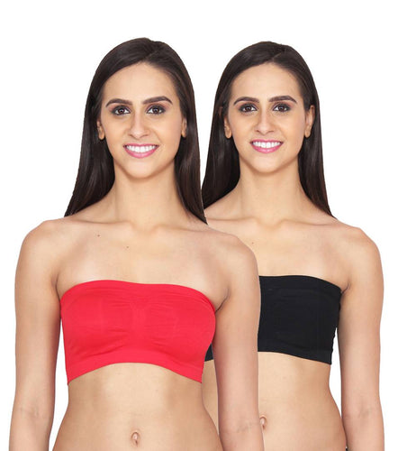 Lycra Net Tube Bra Pack of 2