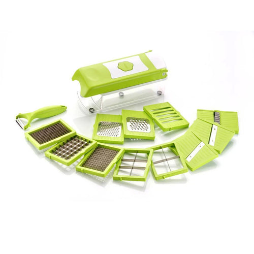 15 In 1 Fruit & Vegetable Graters, Slicer, Chipser, Dicer, Cutter Chopper