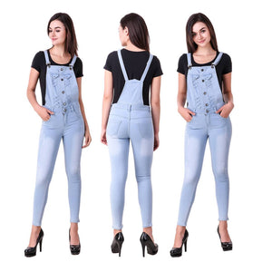 Trendy Denim Dungarees For Women's & Girl's
