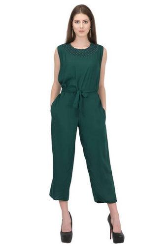 Trendy Women Rayon Jumpsuit
