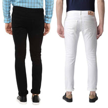 Load image into Gallery viewer, Men's Denim Slim Fit Jeans- Buy One Get One