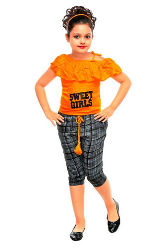 Girls Party, Festive Wear Top Pant