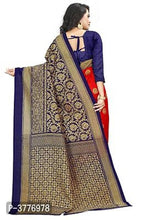Load image into Gallery viewer, Women Beautiful Multicolored Mysore Silk Saree with Blouse piece