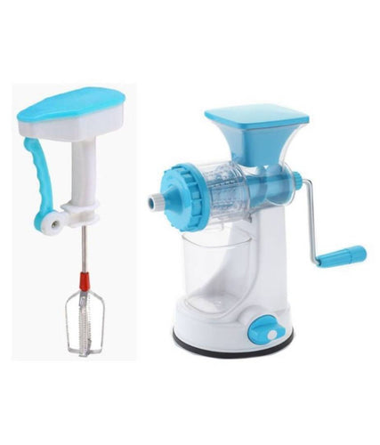 Combo Of Hand Juicer With Power Free Blender