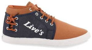 Stylish Brown Fabric Casual Shoe For Men