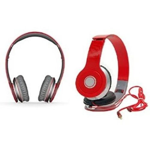 Solo Wired Over the Head Headphone (Red)