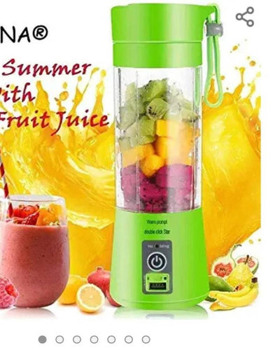 Premium Portable Wireless Rechargeable Automatic Electric Mini Juicer