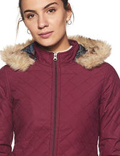Load image into Gallery viewer, Endeavor Women's Quilted Jacket (18512-Pl_Plum_L/91 cm)