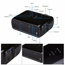 Load image into Gallery viewer, Myra® TouYinGer X7 Led Projector 1800 Lumens, 800*600 HDMI USB VGA TV Home Cinema, Support Red & Blue 3D Format