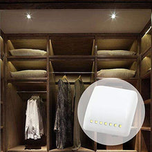 Load image into Gallery viewer, MADHULI Universal Furniture, Wardrobe LED Automatic Sensor Light System with Battery (White)